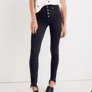High Rise Skinny Jeans in Berkeley Black 29T